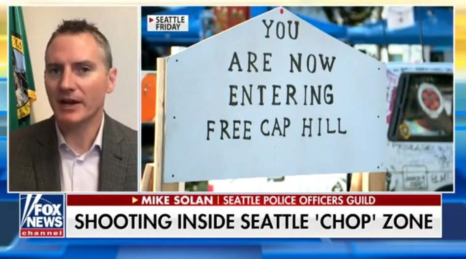 Police Officers Guild President Blasts Seattle Leadership Following Deadly Shooting at CHAZ/CHOP