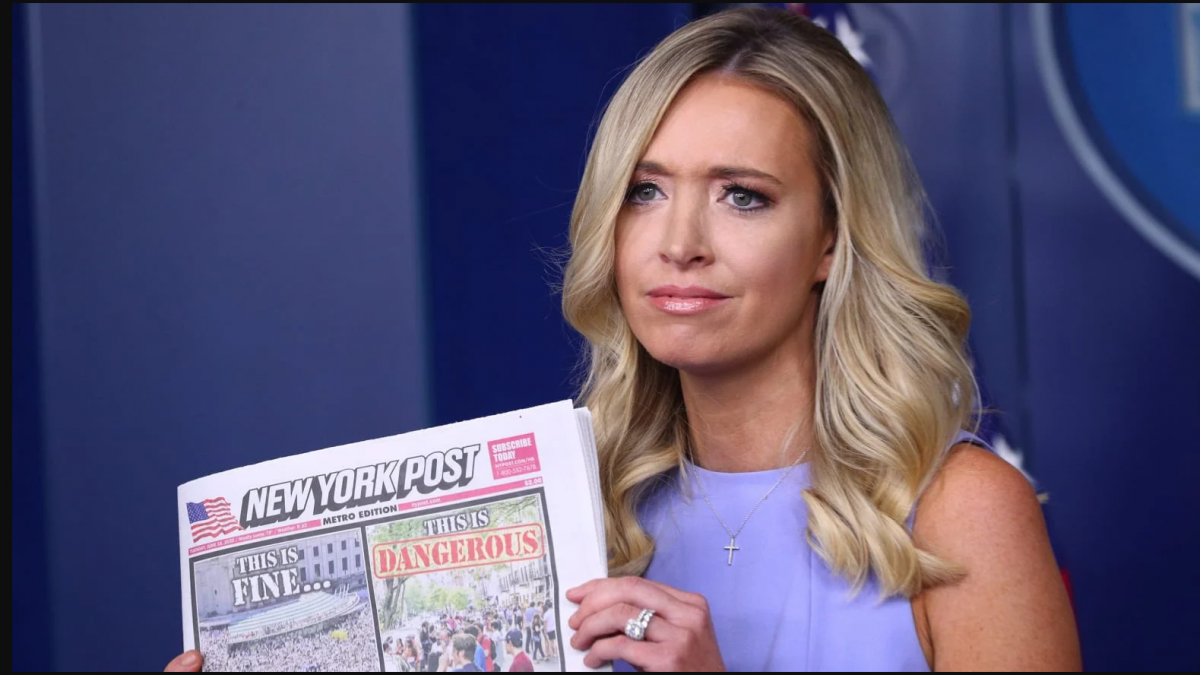 Kayleigh McEnany Clowns Fake News Media Kayleigh McEnany Clowns Fake News Media