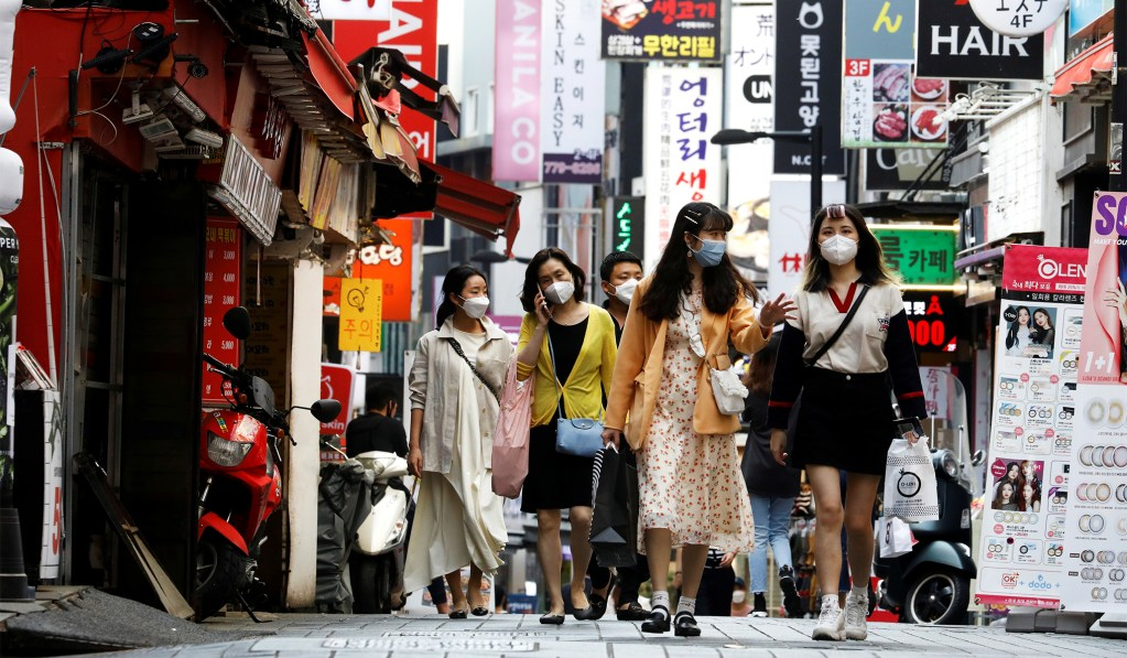 South Korea Says It Is Fighting Second Wave of Coronavirus Infections