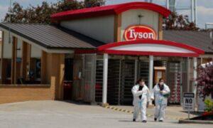 Hundreds Test Positive for CCP Virus at Tyson Foods Plant in Arkansas