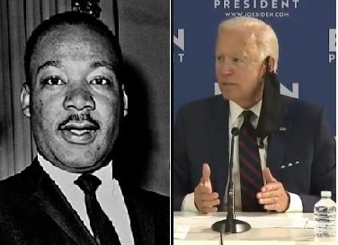 WTH? Joe Biden Says George Floyd's Death is Bigger than Assassination of Dr. Martin Luther King Jr. (VIDEO)