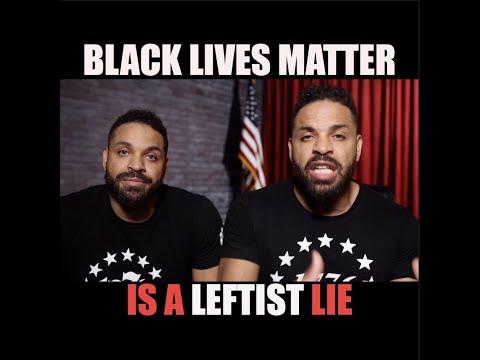 Black Lives Matter Is A Leftist Lie