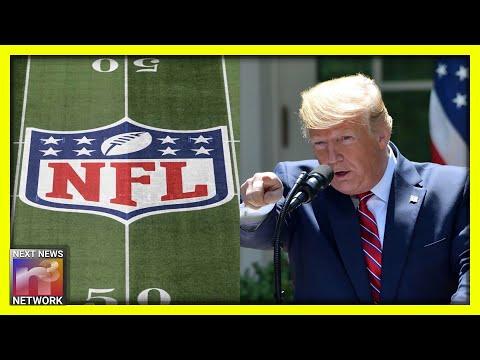 BOOM! President Trump Drop Kicks NFL Commissioner Roger Goodell Over Anthem Kneeling