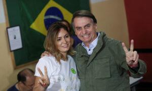 Wife of Brazil's Bolsonaro, 2 Daughters, Test Negative for COVID-19