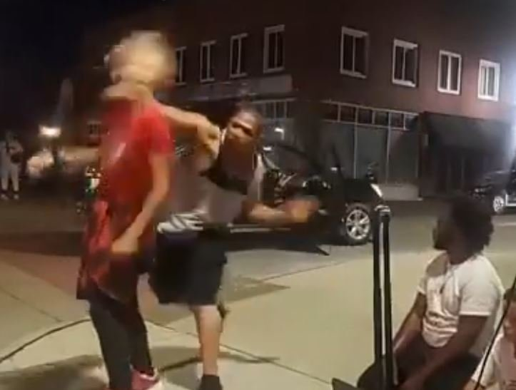 Black Man Who Sucker-Punched 12-Year-Old Street Dancer Charged with Two Felonies, But Cops Are Still Searching For Him – Family Not Cooperating Black Man Who Sucker-Punched 12-Year-Old Street Dancer Charged with Two Felonies