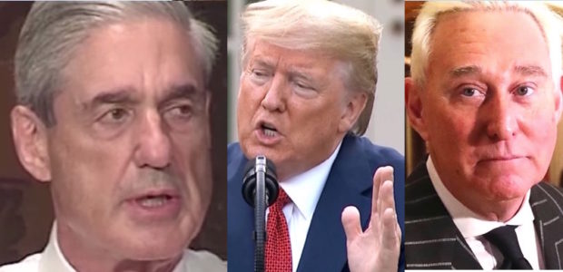 Mueller pens op ed ripping into Trump for commuting Roger Stone's sentence